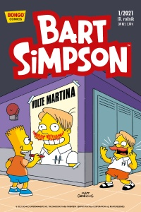 Simpsonovi 2021/01 Bart Simpson
