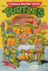 Teenage Mutant Hero Turtles #13 (1/93)